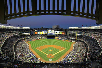 David Bowie Royalty Free Images - Yankee Stadium 2 Royalty-Free Image by Allen Beatty