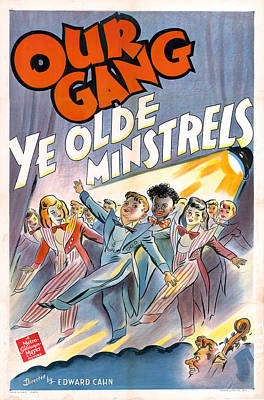 Royalty-Free and Rights-Managed Images - Ye Olde Minstrels, 1941 by Stars on Art