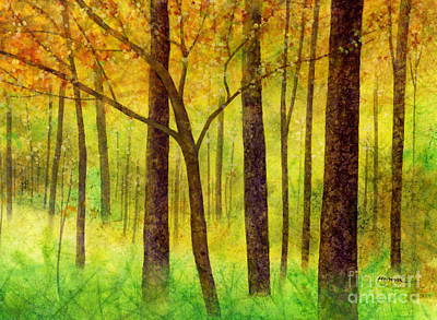 Target Threshold Watercolor - Yellow Mood by Hailey E Herrera