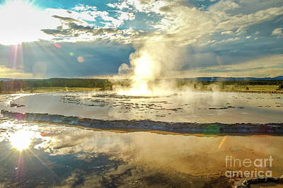 Rainy Day - Yellowstone 9 by Micah May