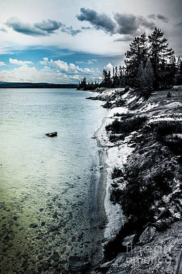 Trick Or Treat - Yellowstone lake by Micah May