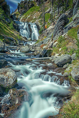 Old Masters - Yellowstone - Mystic Falls #1 by Stephen Stookey