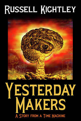 Digital Art - Yesterday Makers Book Cover by Russell Kightley