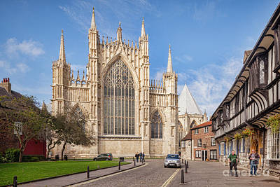 Royalty-Free and Rights-Managed Images - York Minster from College Street by Colin and Linda McKie