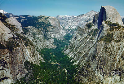 Featured Tapestry Designs - Yosemite Valley from Up High by Wernher Krutein