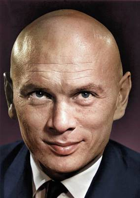 Sheep - Yul Brynner colorized by Stars on Art
