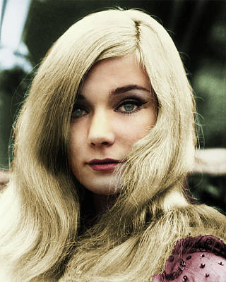 Royalty-Free and Rights-Managed Images - Yvette Mimieux photo by Stars on Art