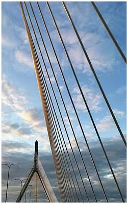 Antlers - Zakim Bridge by Corinne Rhode