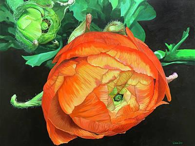 Painting - Zhenya by Lissa Banks