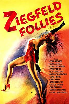 Royalty-Free and Rights-Managed Images - Ziegfeld Follies, 1945 by Stars on Art