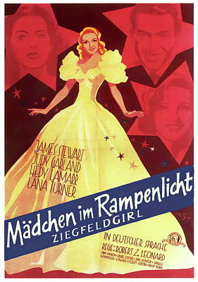 Royalty-Free and Rights-Managed Images - Ziegfeld Girl - 1941 by Stars on Art
