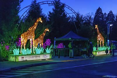 Unicorn Dust - Zoo Lights seattle 48 by Mike Penney