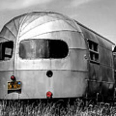 Classic Airstream Caravan Art Print