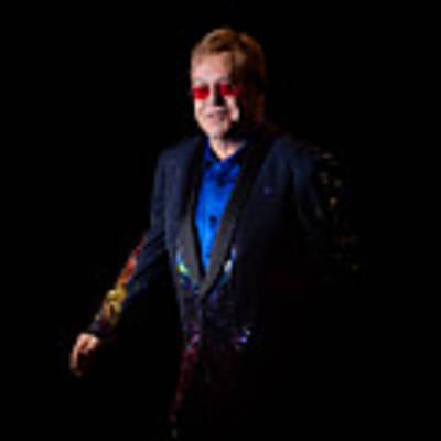 Elton John Art Print by Chris Cousins