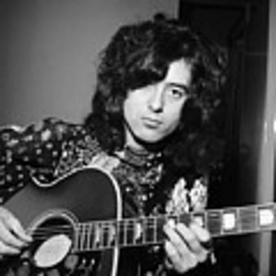 Jimmy Page 1970 Art Print