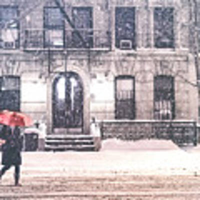New York City Snow Art Print by Vivienne Gucwa