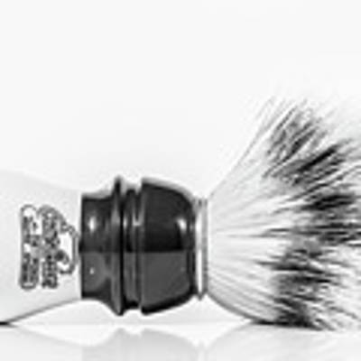 Shaving Brush Art Print by Gary Gillette