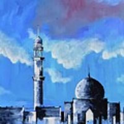 The Mosque Art Print by Nizar MacNojia