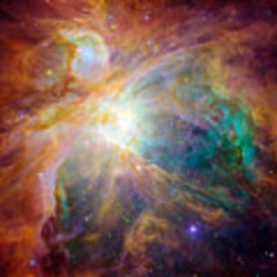 The Orion Nebula Art Print by Stocktrek Images