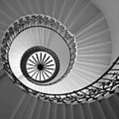 Tulip Staircase Art Print by Julian Perry