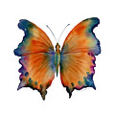 1 Wizard Butterfly Art Print by Amy Kirkpatrick