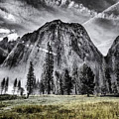Yosemite Dawn Art Print by Chris Cousins