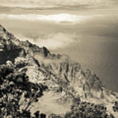 Puu O Kila Lookout, Kauai, Hi Art Print by T Brian Jones