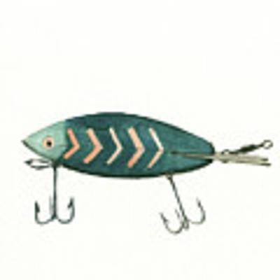 Fishing Lure Original by Juan Bosco