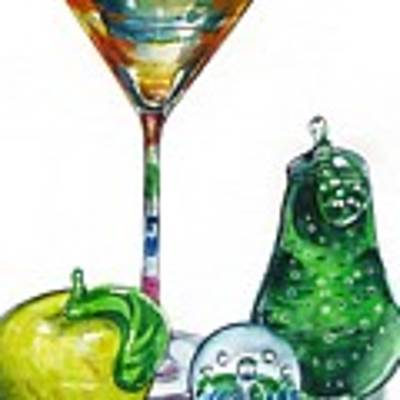 A Bit Of The Bubbly Art Print by Jane Loveall
