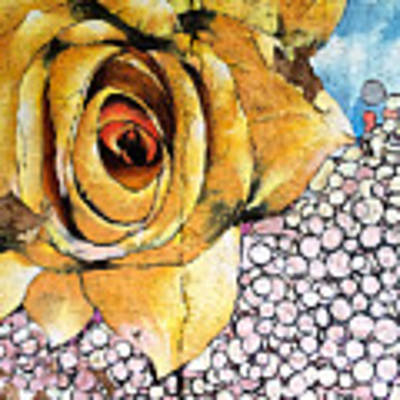 A Rose By Any Other Name Art Print by Terry Rowe