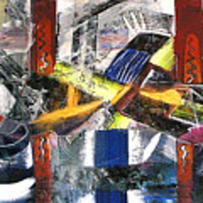 Abstract Painting Art Print by Robert Thalmeier