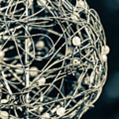 Abstract Sphere Art Print by Todd Blanchard