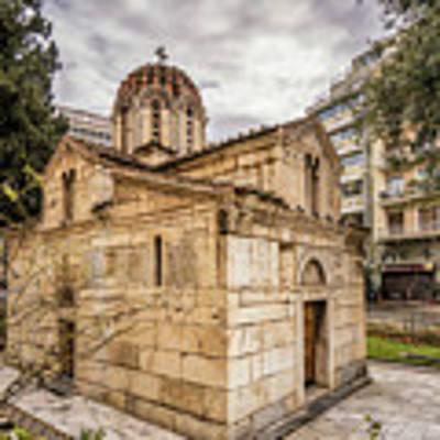 Agios Eleftherios Church Art Print by James Billings
