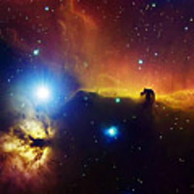 Alnitak Region In Orion Flame Nebula Art Print by Filipe Alves