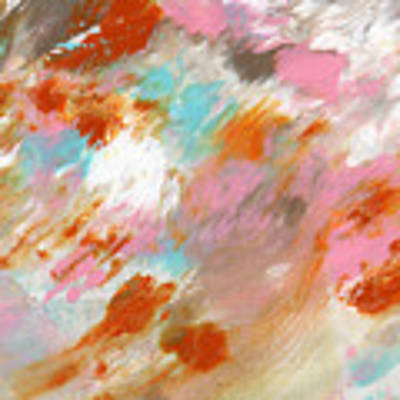 Ambrosia- Abstract Art By Linda Woods Art Print by Linda Woods