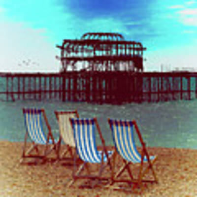 An Ode To Brighton Art Print by Chris Lord