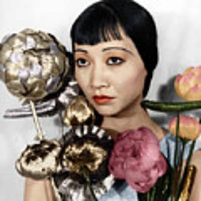 Anna May Wong Art Print by Granger