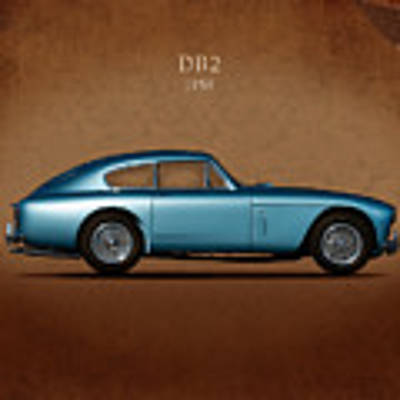 Aston Martin Db2 Art Print