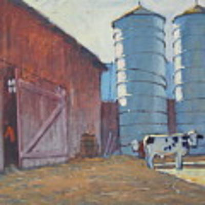 Barn Yard Boss Original by Len Stomski