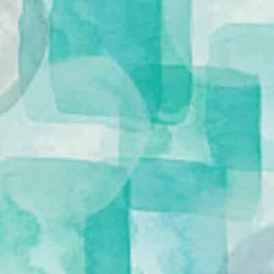 Beach Glass- Abstract Art By Linda Woods Art Print