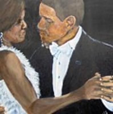 Black Love Is Black Power Art Print by Saundra Johnson
