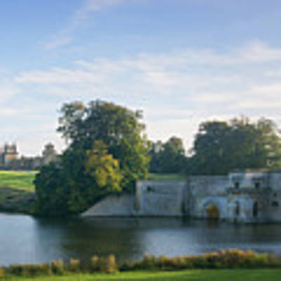 Blenheim Palace Art Print by Joe Winkler