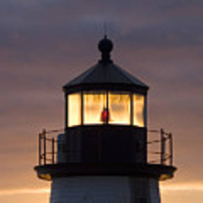 Brant Point Lanthorn - Nantucket Original by Henry Krauzyk