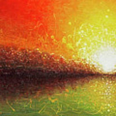 Bursting Sun Art Print by Jaison Cianelli
