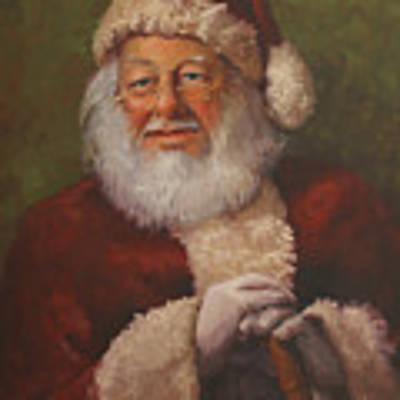 Burts Santa Original by Vicky Gooch