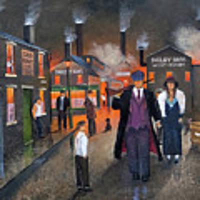 By Order Of The Peaky Blinders Art Print by Ken Wood