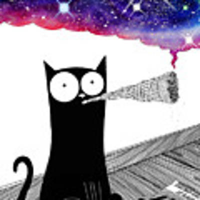 Catnip  Art Print by Andrew Hitchen