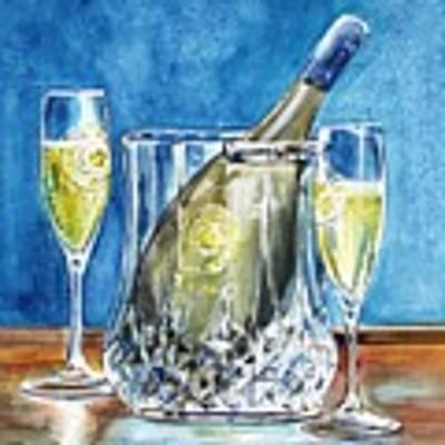 Celebration Art Print by Jane Loveall