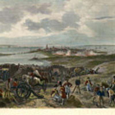 Charleston 1780 Art Print by Granger