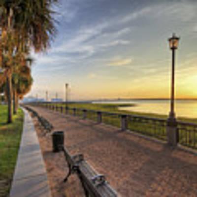 Charleston Sc Waterfront Park Sunrise  Original by Dustin K Ryan